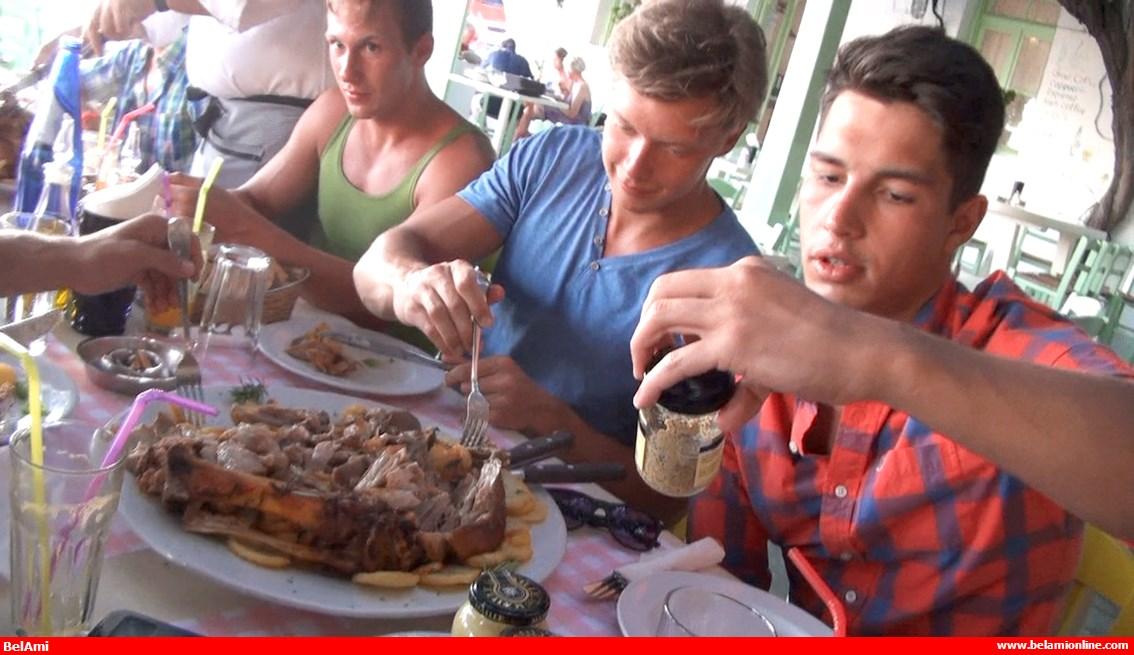 Greek Salad #19 - From Greek Salad to Pork Knuckles