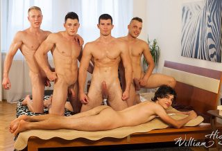 WilliamHiggins: Wank Party #100 – Part 1