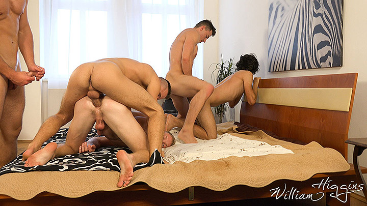 WilliamHiggins: Wank Party #100 – Part 2