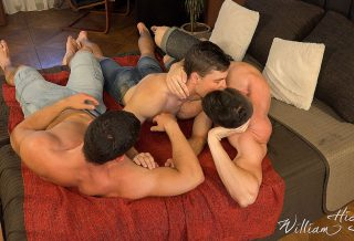 Oleg Hubert Threesome with Oto & Tomas