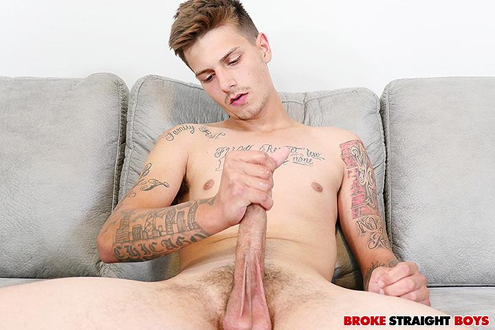 New Broke Straight Boy Jake Spencer