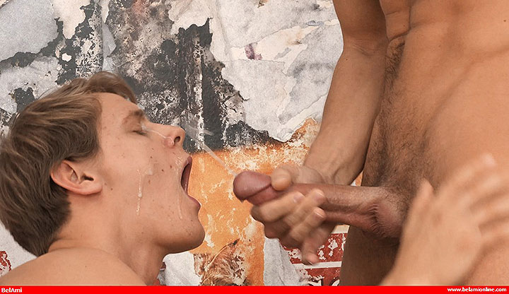 BelamiOnline: Body Worship Three Way