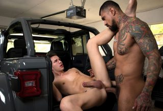 GuysInSweatPants: Boomer Banks Fucks Küper Ryan