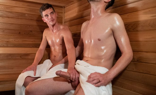 GayCest: Hung Uncle - Sauna Play