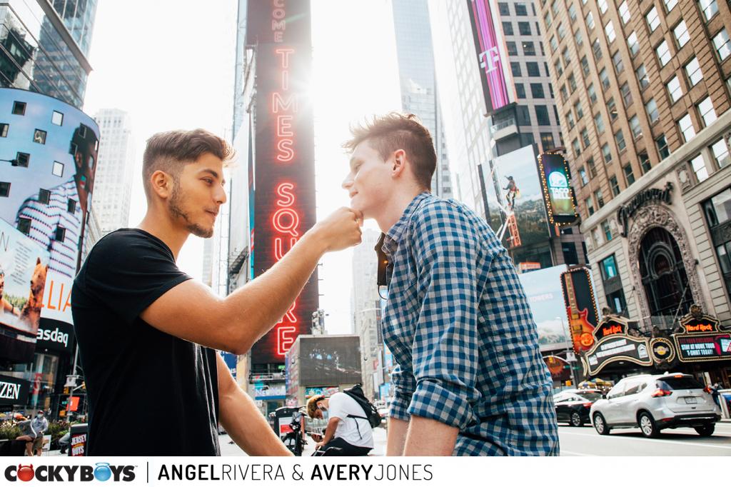 CockyBoys: Angel Rivera Fucks Avery Jones